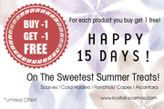 Buy 1 Get 1 free on Spring/ Summer 2016 collections @ krystall-Soamas